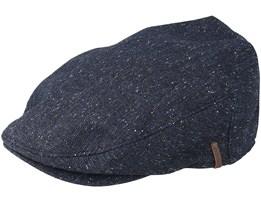 Chervil Navy Flat Cap - Barts