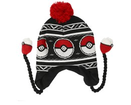 Pokémon Pokeball Laplander Black Beanie - Bioworld