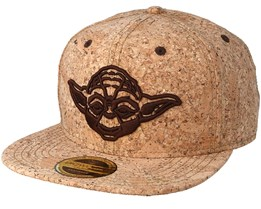 Star Wars Yoda Cork Snapback - Bioworld