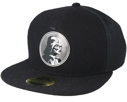 Star Wars Darth Vader Metal Badge Black Snapback - Bioworld