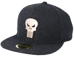 Marvel Comics The Punisher Black Snapback - Bioworld