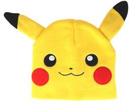Pokémon Pikachu With Ears Yellow Beanie - Bioworld