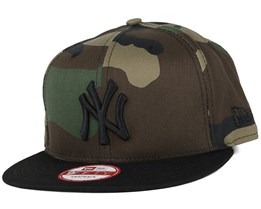 NY Yankees Camo Crown Green 9Fifty Snapback - New Era