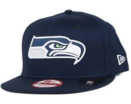 Seattle Seahawks Logo Prime 9Fifty Snapback - New Era
