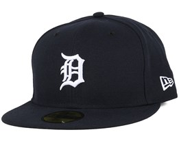 Detroit Tigers Team Structured Home 59Fifty Dark Navy Fitted - New Era