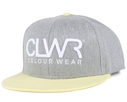 CLWR Grey Melange Snapback - Colour Wear