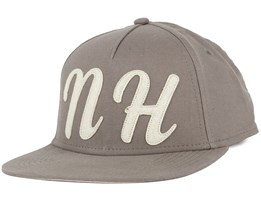 NH Felt Light Grey Snapback - Northern Hooligans