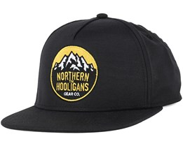 Summit Light Black Snapback - Northern Hooligans