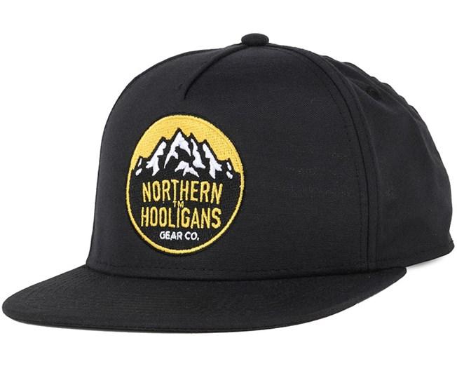 Summit Light Black Snapback - Northern Hooligans