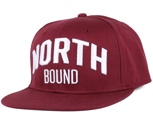 North Bound Maroon Snapback - Northern Hooligans