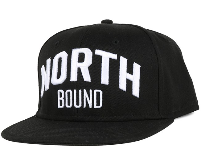 North Bound Black Snapback - Northern Hooligans
