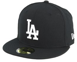 LA Dodgers MLB Basic Black/White 59Fifty - New Era