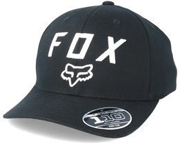 Legacy Moth 110 Black Snapback - Fox