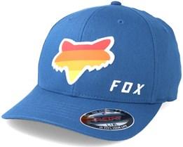Draftr head Blue Flexfit - Fox