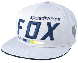 Draftr Grey Snapback - Fox