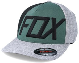 Blocked Out Heather Grey Flexfit - Fox