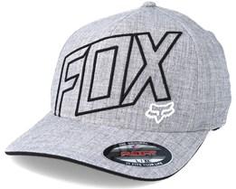 Three 60 Heather Grey Flexfit - Fox