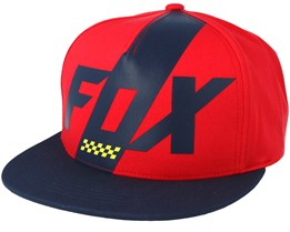 Scalene Red Snapback - Fox