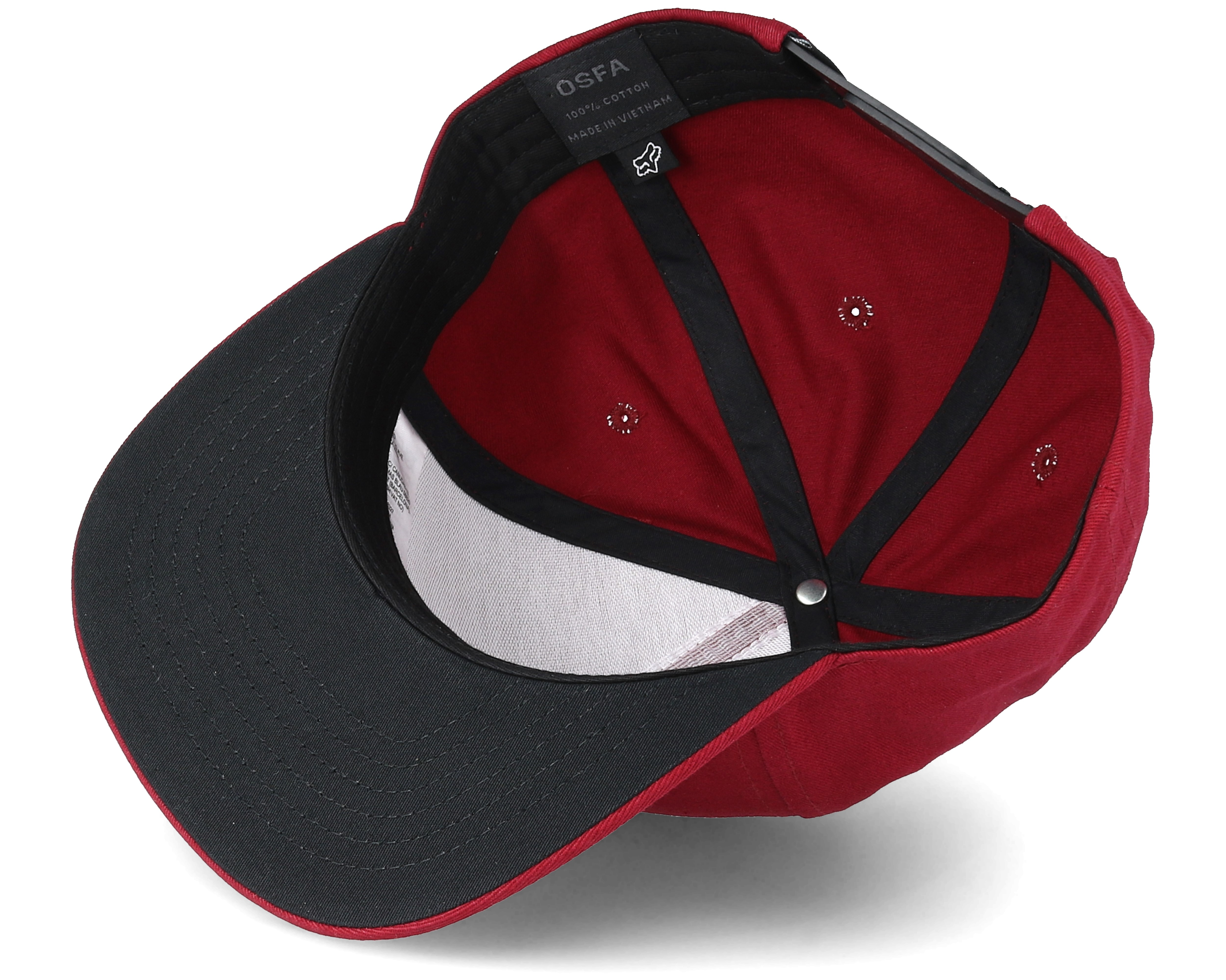 new styles d1a07 3aeb0 ... back red trucker cap hat losangeleswreckless snapbackballcap 34ee3  afc73  cheap ingratiate red snapback fox caps hatstore 4335e 7fa63