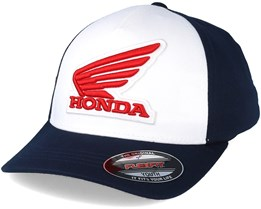 Kids Honda Youth Midnight/White Snapback - Fox