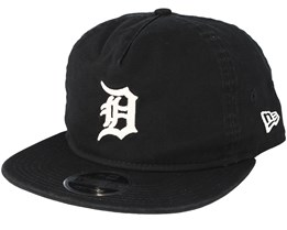 Detroit Tigers Chain Stitch Black Snapback - New Era