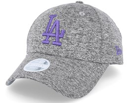 Los Angeles Dodgers Tech Jersey 9Forty WMN Grey/Purple Adjustable - New Era