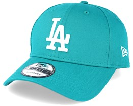 Los Angeles Dodgers League Essential Teal Adjustable - New Era