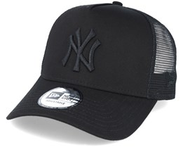 New York Yankees Essential Trucker Black Adjustable - New Era