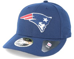 New England Patriots Team Classic Low Profile 59Fifty Navy Fitted - New Era