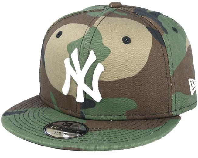 Kids New York Yankees League Essential 9Fifty Jr Camo Snapback - New Era  lippis - Hatstore.fi fd3875fd0d