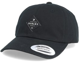 M San Pedro Dad Cap Black Adjustable - Hurley