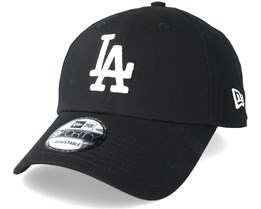 Los Angeles Dodgers League Essential 9Forty Black Adjustable - New Era