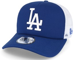 Los Angeles Dodgers Clean Trucker Blue Adjustable - New Era