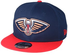 New Orleans Pelicans Team 9Fifty Navy Snapback - New Era