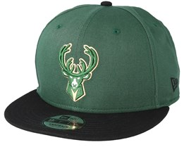Milwaukee Bucks Team 9Fifty Green Snapback - New Era