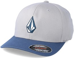 Full Stone Grey/Blue Flexfit - Volcom