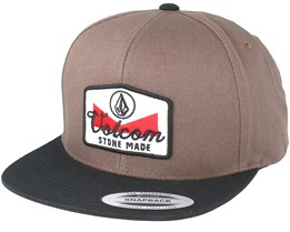 Cresticle Brown Snapback - Volcom