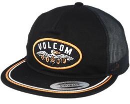 Full Frontal Chees Black Trucker - Volcom