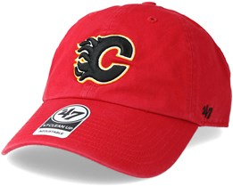 Calgary Flames Clean up Red Adjustable - 47 Brand