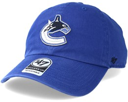 Vancouver Canucks Clean up Royal Adjustable - 47 Brand