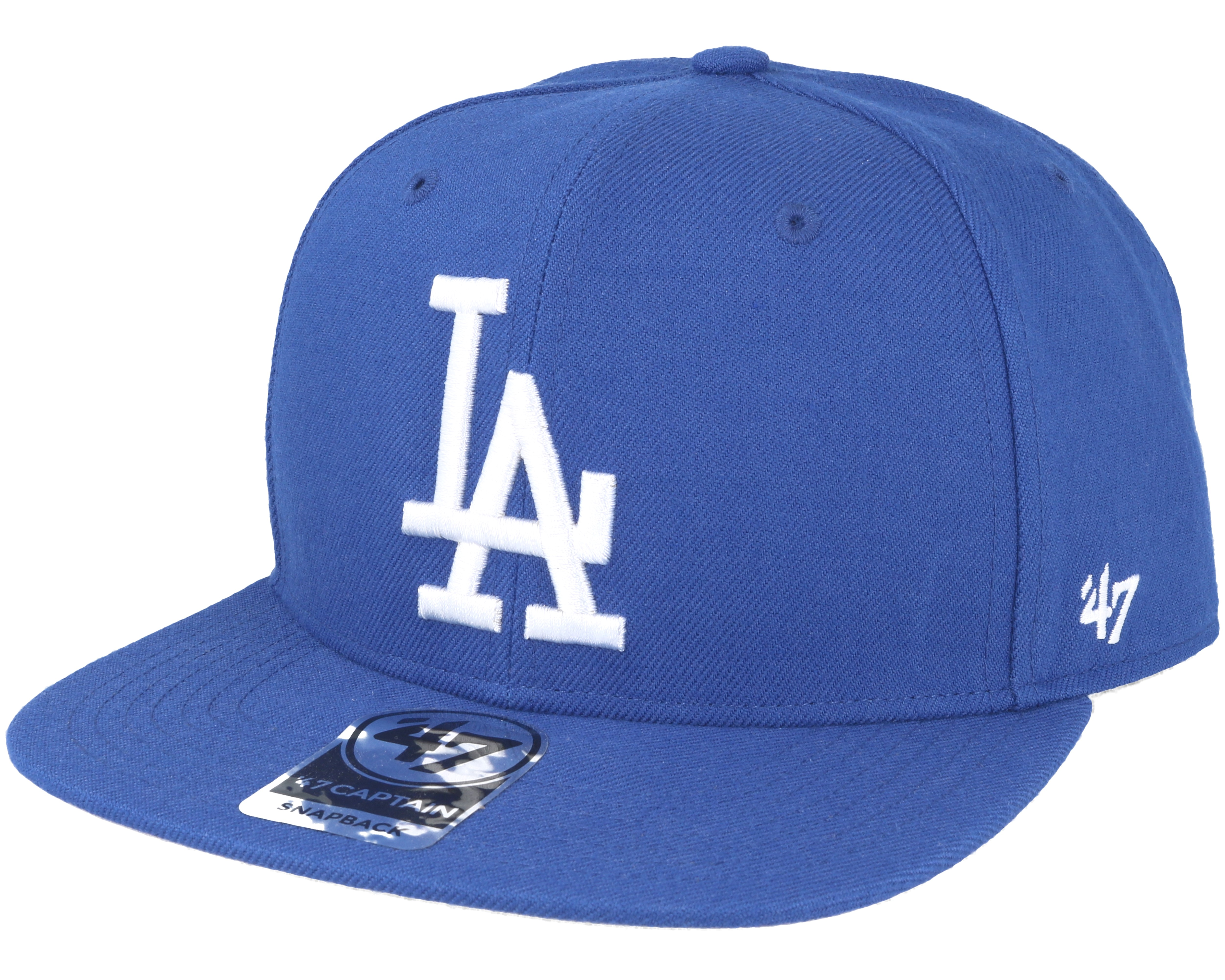 online retailer 49894 f4bc5 Los Angeles Dodgers Sure Shot Royal Blue Snapback - 47 Brand