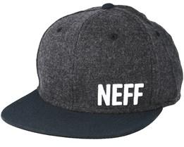 Daily Fabric Black Snapback - Neff