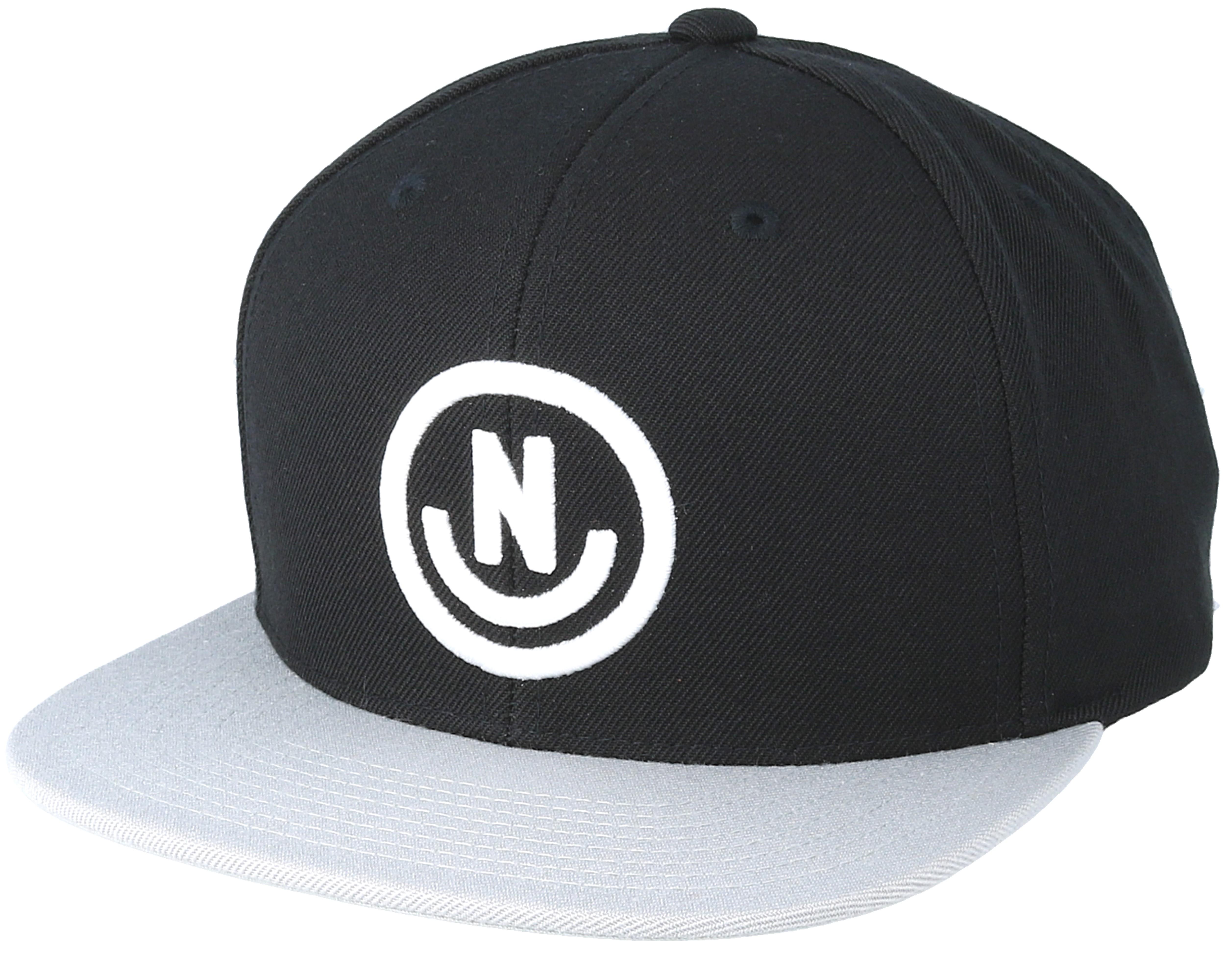 656f564bf0e Daily Smile Black Grey Snapback - Neff caps