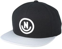 Daily Smile Black/Grey Snapback - Neff