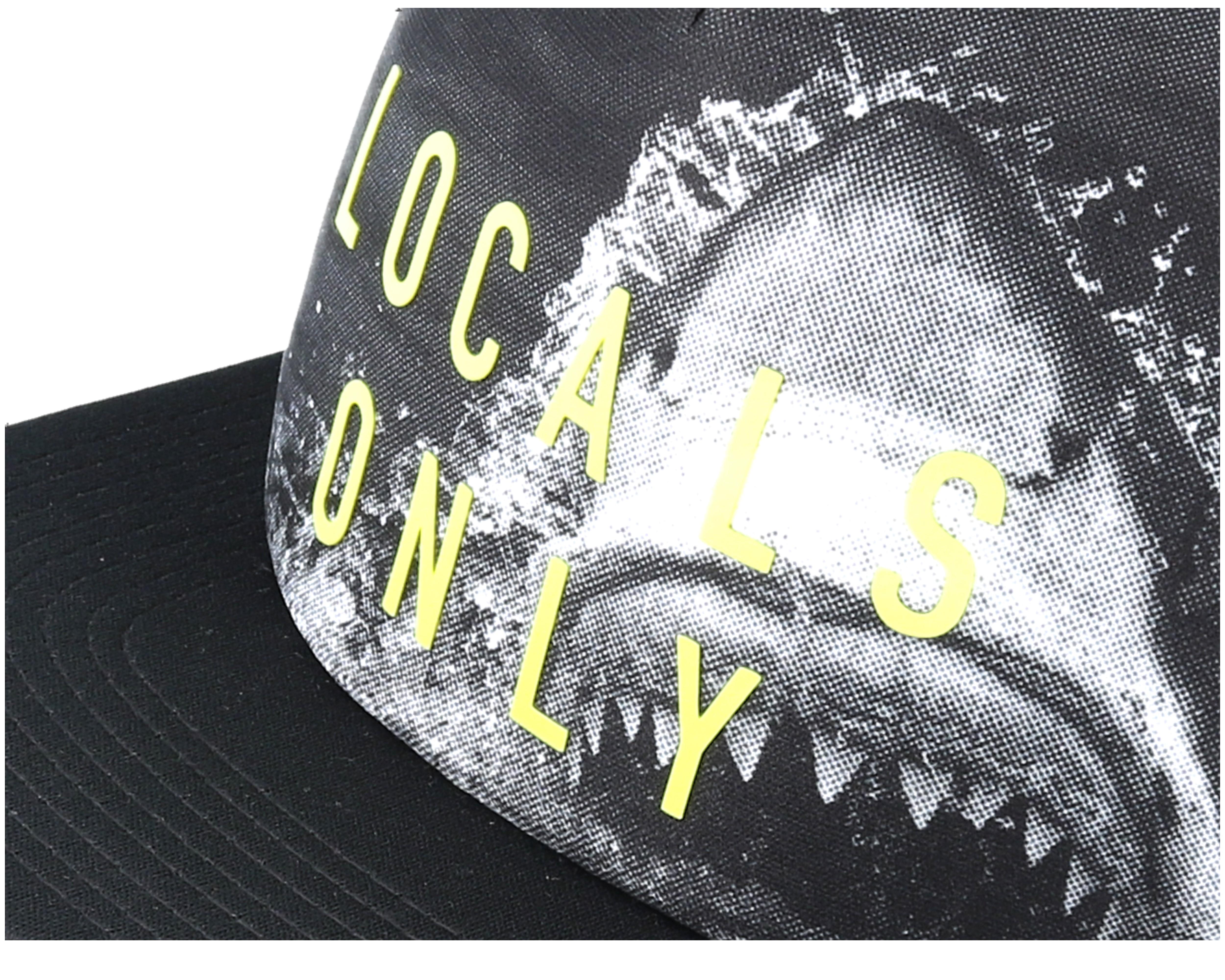 Waco trucker tennis black snapback neff cap for Tattoo shops in waco tx