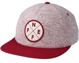 Kingston Beige/Maroon Snapback - Neff