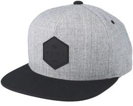 Y Cap Grey/Black Snapback - Neff