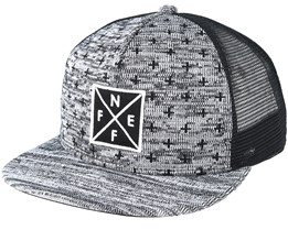 Tilted Black/Grey Trucker - Neff