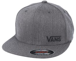 Splitz Heather Charcoal Fitted - Vans