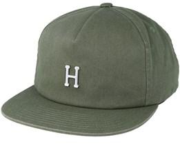 Washed Metal H Aloe Strapback - Huf